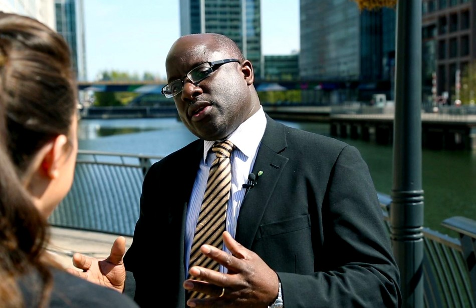 Selwyn Blair-Ford, head of global regulatory policy at Wolters Kluwer (Photo: IBTimes UK)