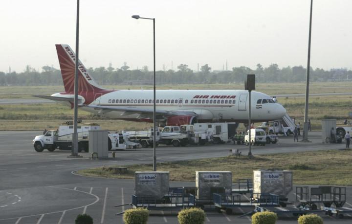 An Air India Airplane