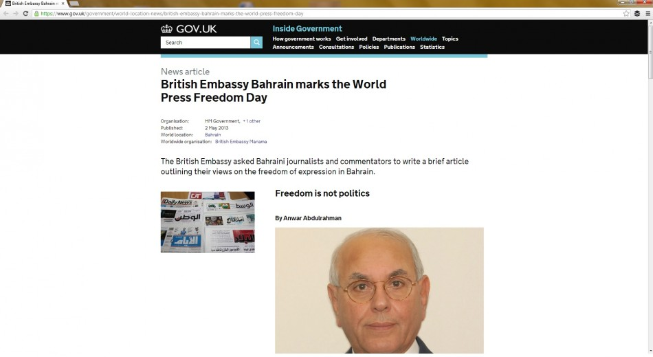 Embassy page