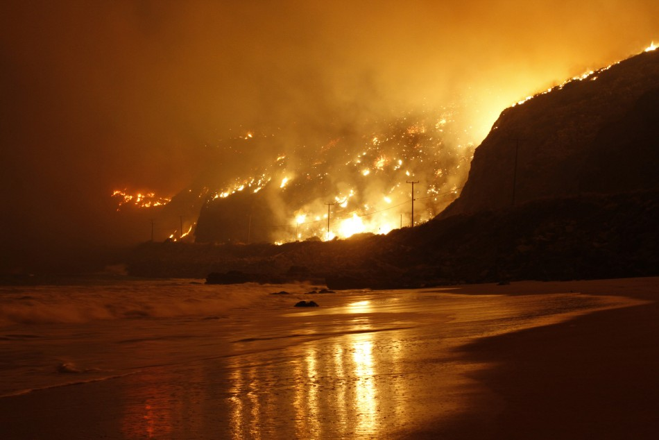California wildfire Malibu