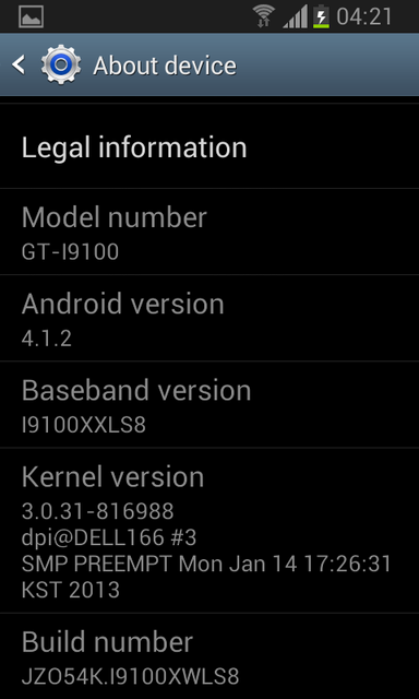 Galaxy S2 I9100 Receives Official Android 4.1.2 XWLSS Jelly Bean Update [How to Install]