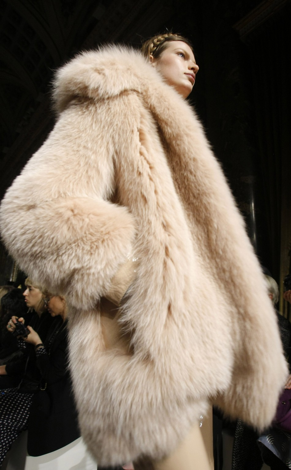 Rising demand in the far east has seen an increase in fur sales.