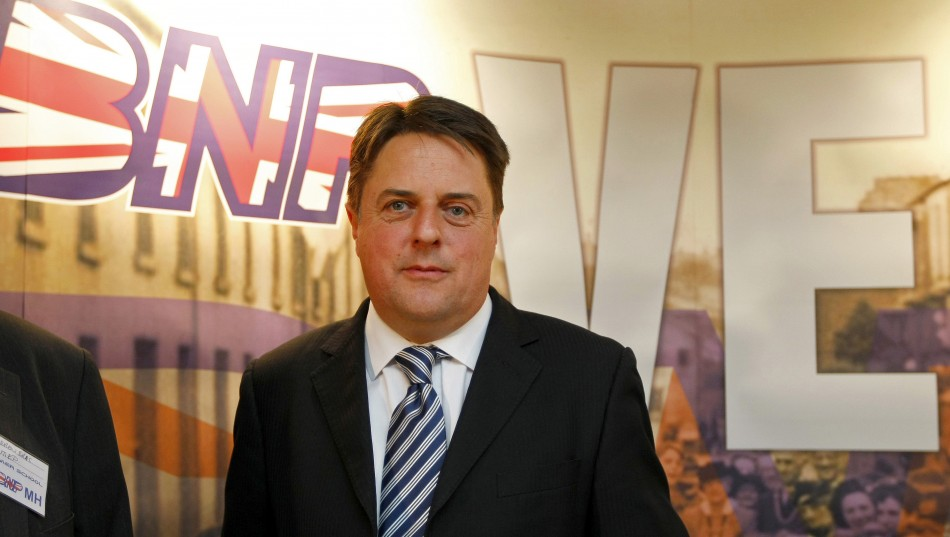 BNP MEP Nick Griffin