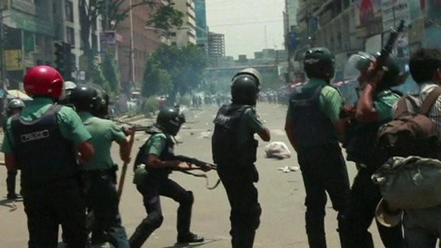 Dhaka protests