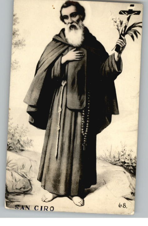 St. Ciro, the patron saint of Sicily