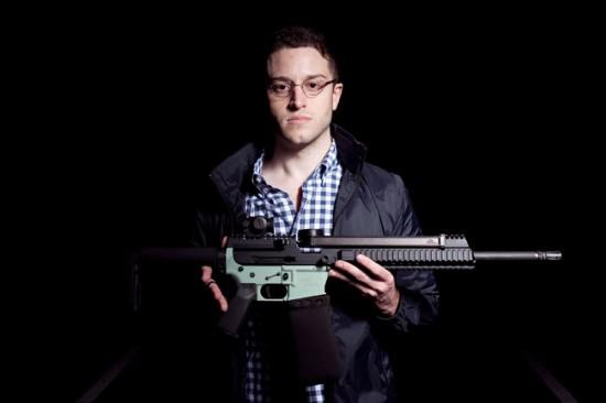Gun manufactuirer Cody Wilson