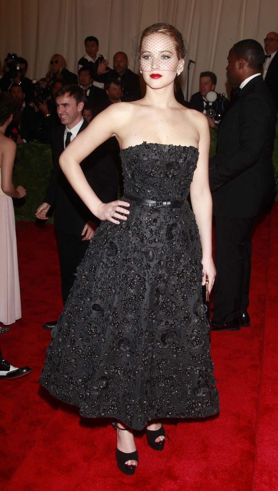 Met Ball 2013 Kristen Stewart Jennifer Lawrence Emma
