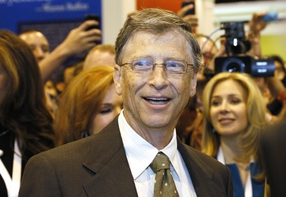 Bill Gates, co-founder of Mocrosoft