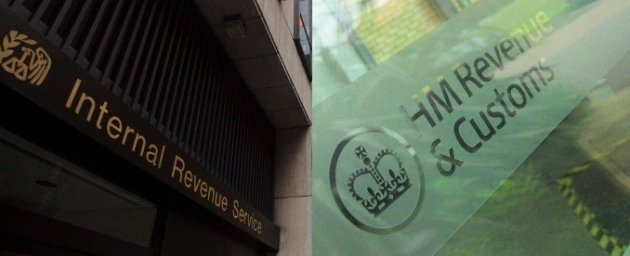 US' Internal Revenue Service and HMRC (Photo: Reuters)