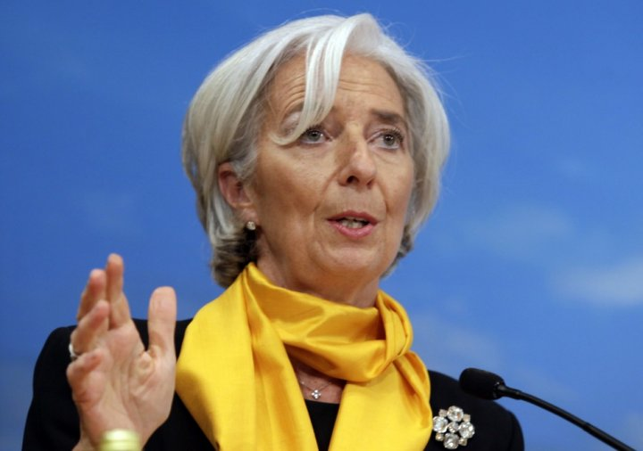 International Monetary Fund (IMF) Managing Director Christine Lagarde speaks at the seminar on Fiscal Policy, Equity, and Long-Term Growth in Developing Countries during 2013 Spring Meeting of the International Monetary Fund and World Bank in Washington,