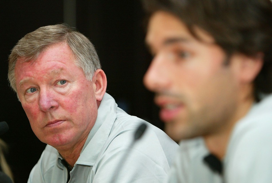 Sir Alex Ferguson and Ruud van Nistlerooy