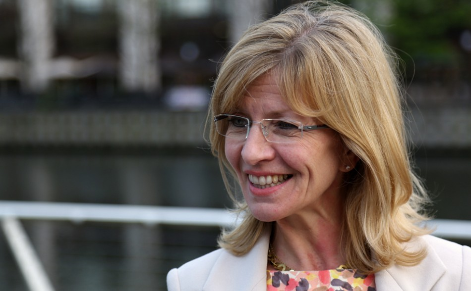 Sarah Churchman, head of diversity at PwC speaks with IBTimes UK about women in the boardroom and equality (Photo: IBTimes UK)