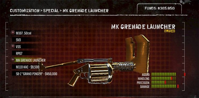 Army of Two weapon customisation