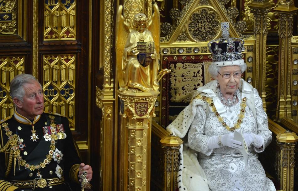 """Queen Speaks about """"crime in cyberspace"""""""