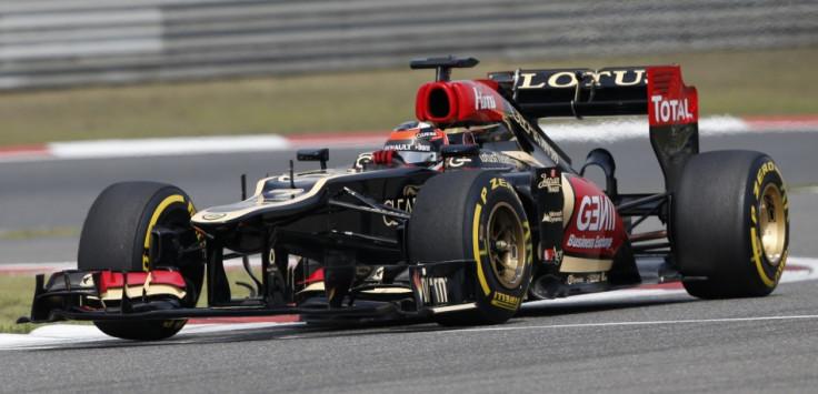 Kimi Raikkonen [Lotus-Renault]