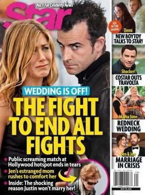 Jennifer Aniston Calls off Wedding?