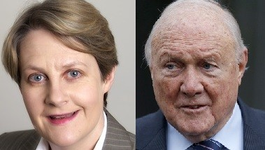 Barbara Hewson has been critisised for her comments about Stuart Hall's conviction (Hardwicke Chambers /Reuters)
