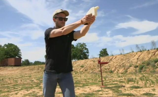 3D printed gun tes fire