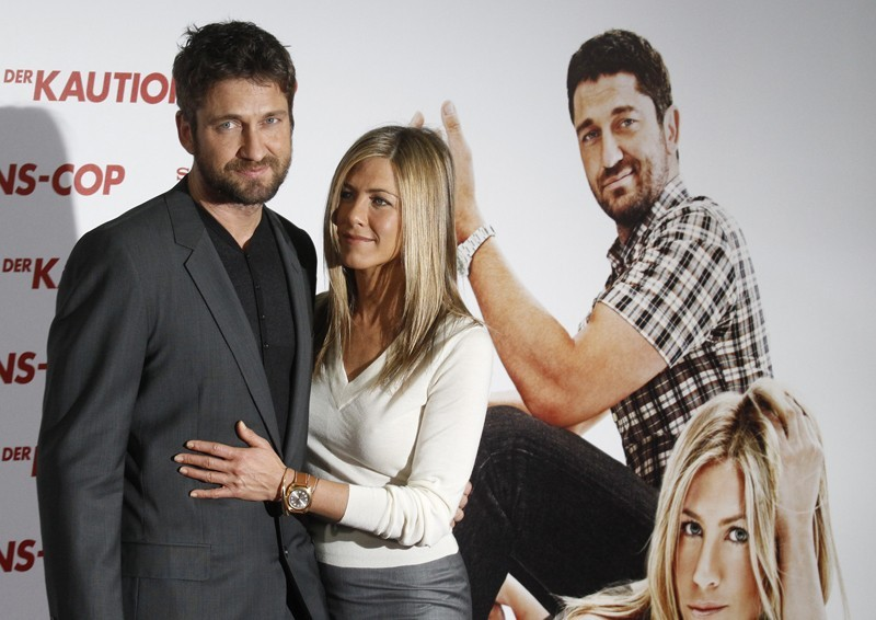 Gerald Butler and Jennifer Aniston