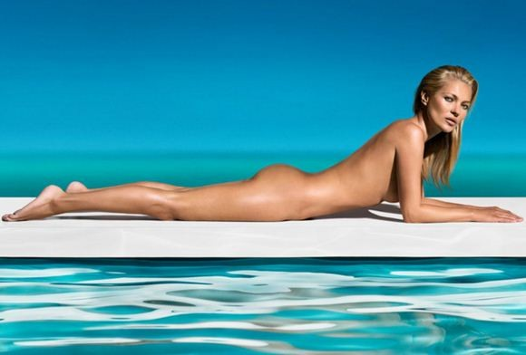 Kate Moss Poses Naked For St Tropez