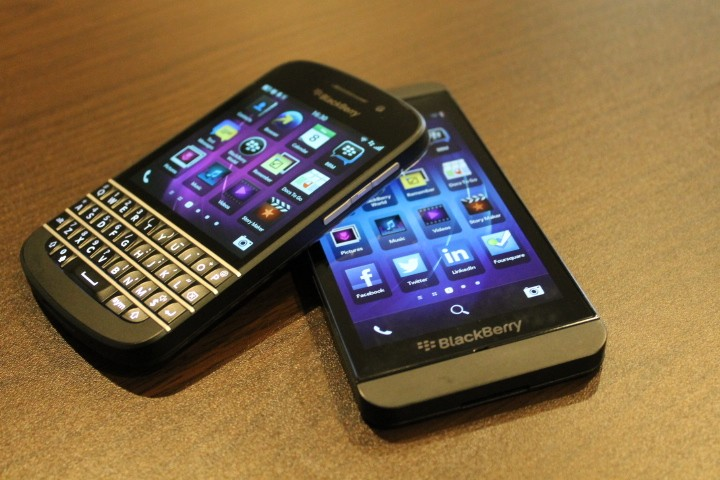 BlackBerry Z10 vs Q10