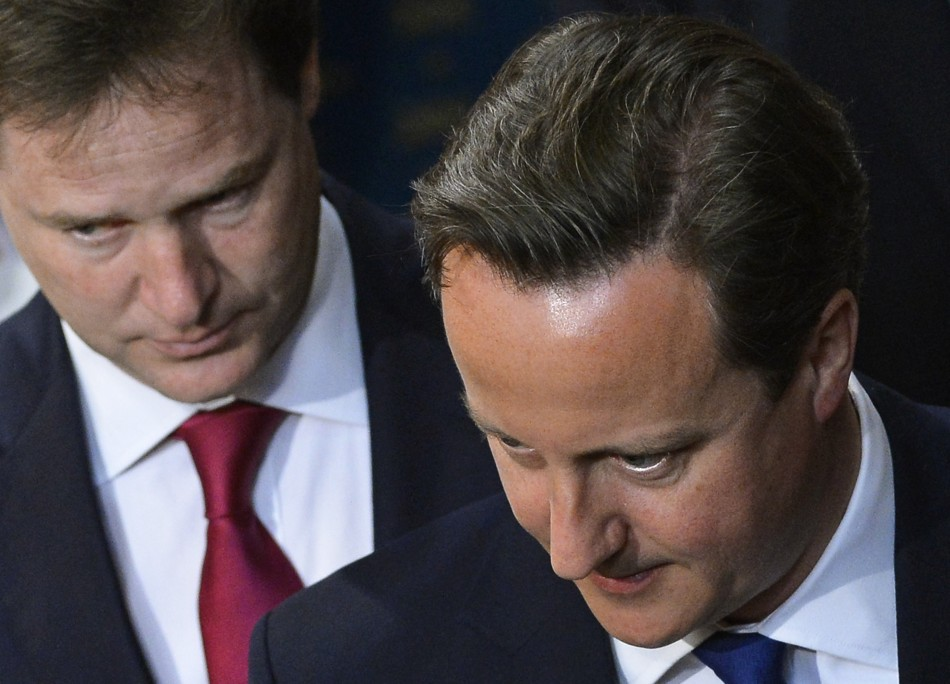 Tory rebels could put Clegg and Cameron on collision course