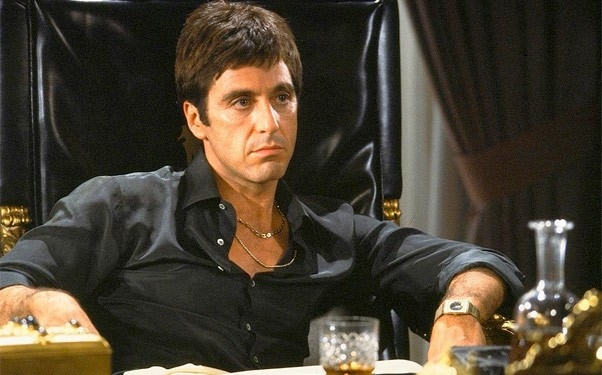Say Hello To My Little Friend Tony Montana Lookalike In Scarface