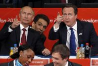 Cameron in Russia