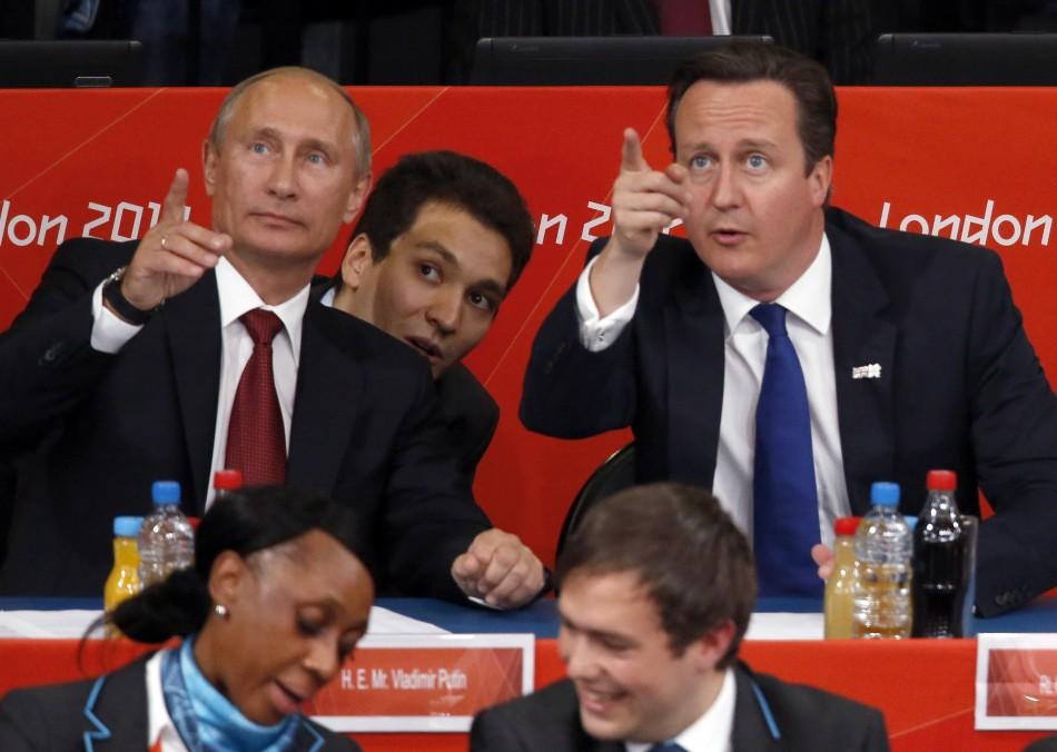 Cameron in Russia