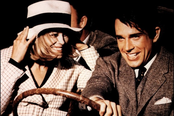 Faye Dunaway and Warren Beatty in Bonnie