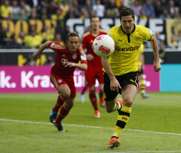 Bayern are chasing Lewandowski