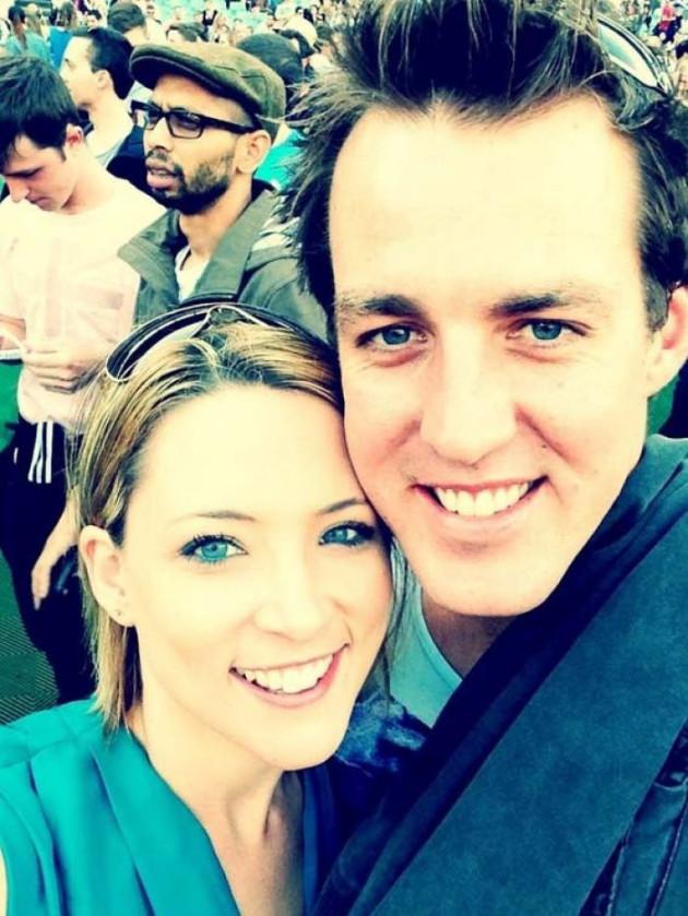 Paul Rossington and Kristen Schroder