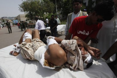 Pakistan Karachi blasts