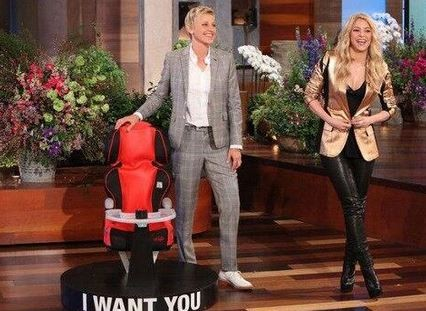 Shakira on The Ellen DeGeneres Show