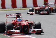 Fernando Alonso (L) and Felipe Massa [Ferrari]