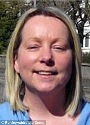 Former Lib Dem politician and mother of five Margaret McDonough was stabbed to death at a Premier Inn in Greenock, Renfrewshire
