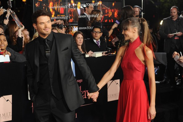 Kellan Lutz splits from Australian girlfriend Sharni Vinson