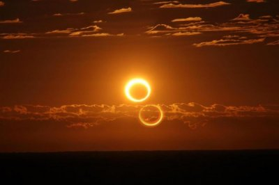 Annular solar eclipse at Australia
