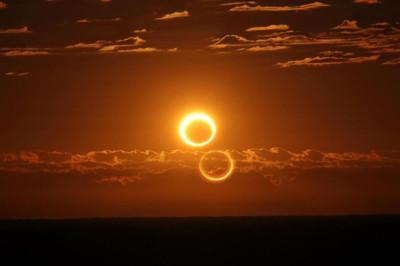 Annular solar eclipse at Australia