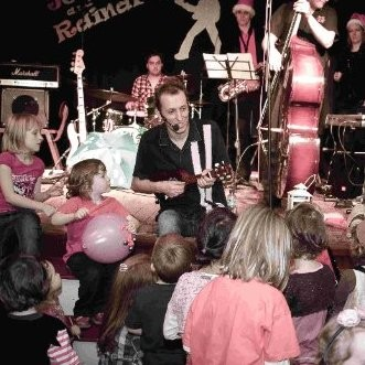 Liam Maloy also specialises in children's music under the name Johnny and the Raindrops (linkedin)