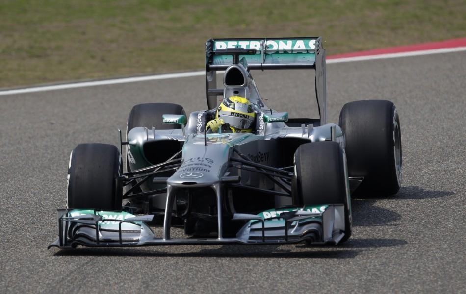 Nico Rosberg [Mercees]