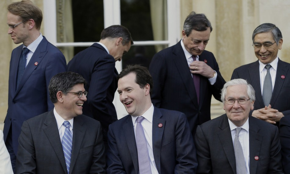G7 finance ministers meet in Aylesbury.