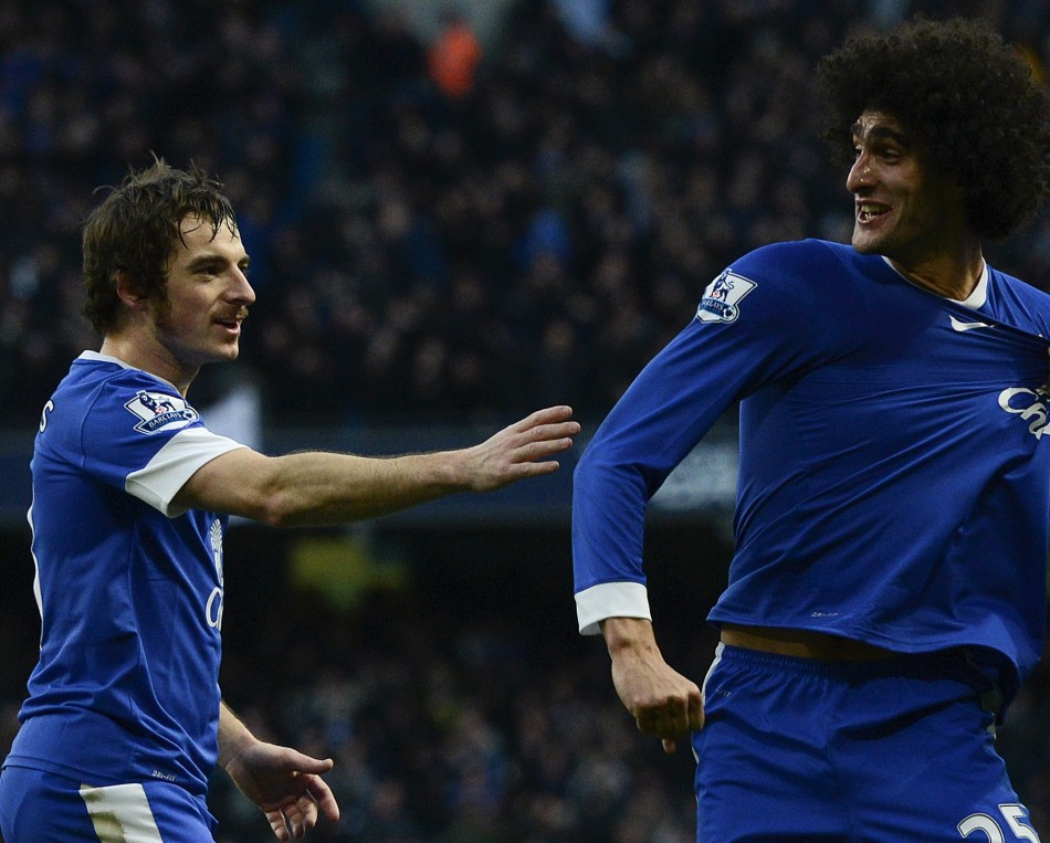 Baines and Fellaini have been linked to United