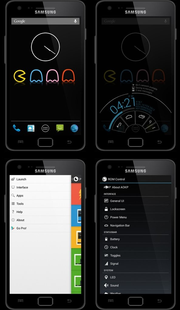 Update Galaxy S2 I9100G to Android 4.2.2 Jelly Bean via PACman v22.1 ROM [How to Install]