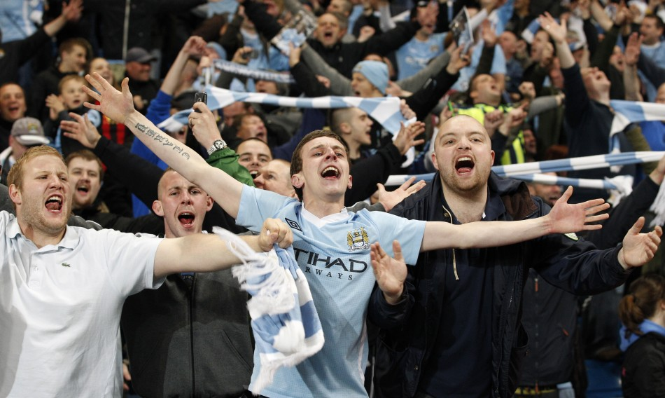 Man City fans are the randiest in the Premiership, according to a new survey