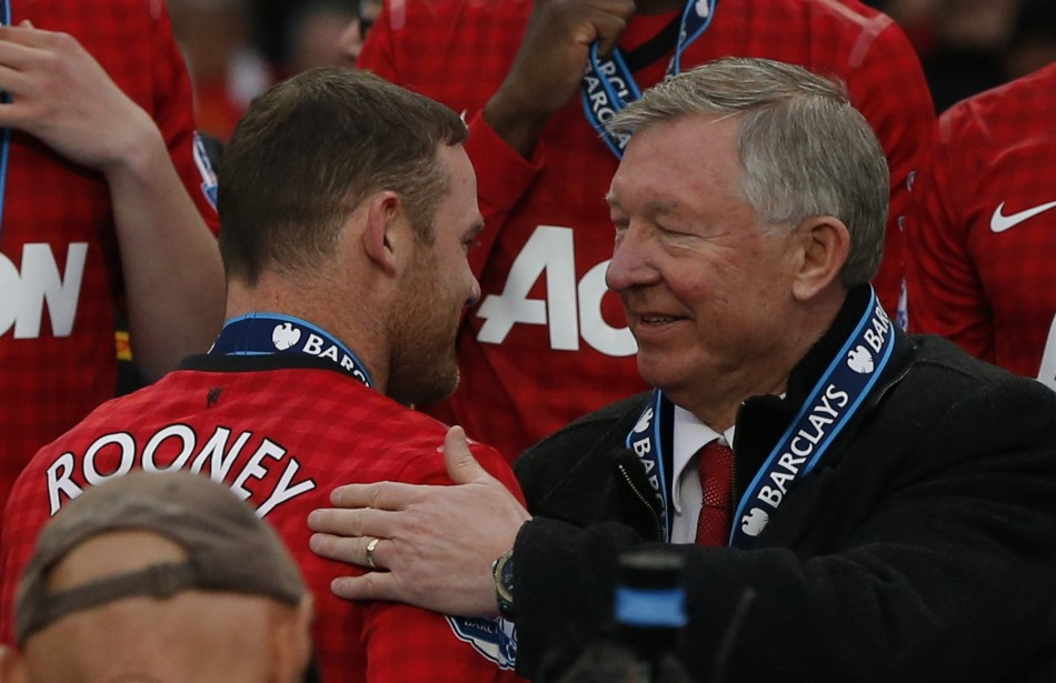 Ferguson has confirmed United rejected a transfer request from Rooney