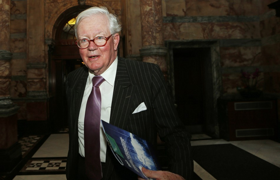 Lloyds Banking Group Chairman, Win Bischoff, arrives for the British Bankers' Association (BBA) annual international banking conference in London October 17, 2012 (Photo: Reuters)