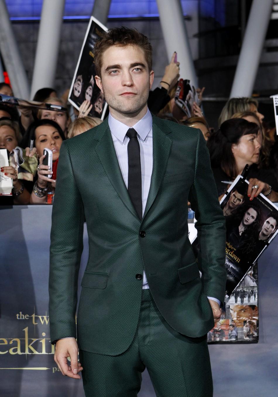 Robert Pattinson Twilight Part 2
