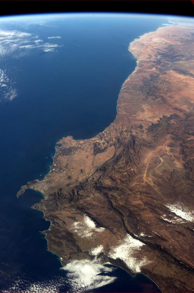 southwest corner of Africa