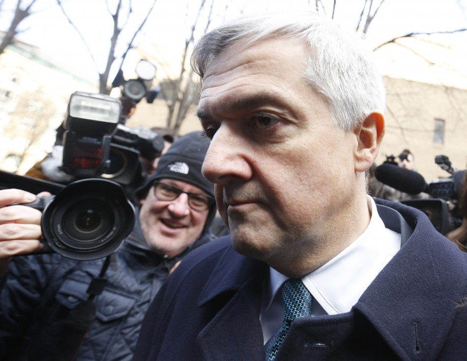 Chris Huhne after admitting his guilt